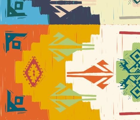 KilimBoards fabric by createdesign on Spoonflower - custom fabric