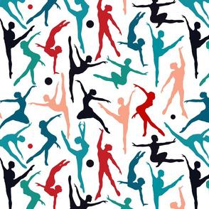 TANSI colourful dancers