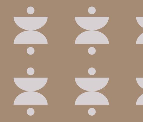 blokprint_silver fabric by zen_studio on Spoonflower - custom fabric