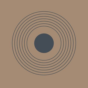 blokprint 7 circles_slate grey