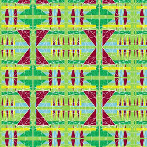 Township ( African pattern )