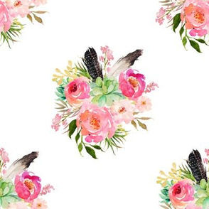 """8"""" Wild One Florals"""
