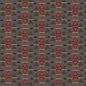 kilim 1 gray background