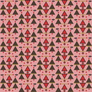 kilim 1 deep blush background
