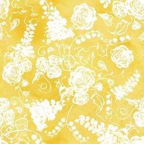 White Wedding Yellow