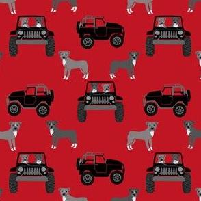 pitbulls adventure fabric - outdoors, explore, dog, dogs, pitbull, pitbulls