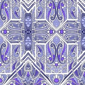 Twisted Purple Paths