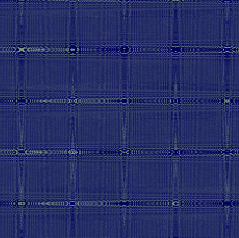 Millennial Moiré Checks in Dark Blue and Pastel Green fabric by maryyx on Spoonflower - custom fabric