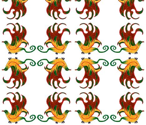 Griffin fabric by female_farmer on Spoonflower - custom fabric