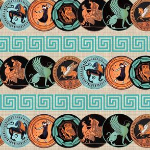 Greek plates