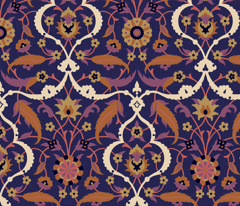Serpentine 837c fabric by muhlenkott on Spoonflower - custom fabric