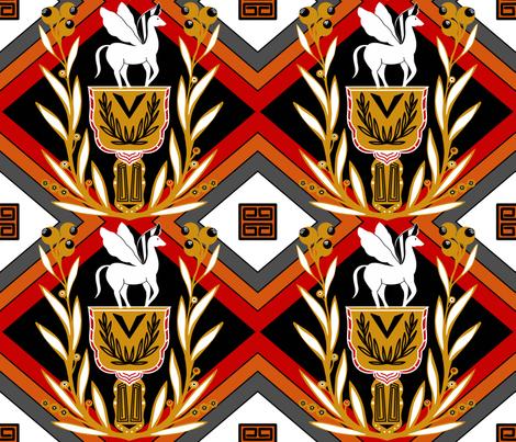 Pegasus sewindigo fabric by sewindigo on Spoonflower - custom fabric