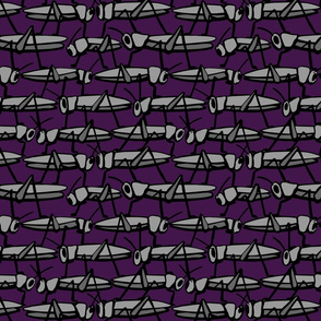 Purple Grasshoppers