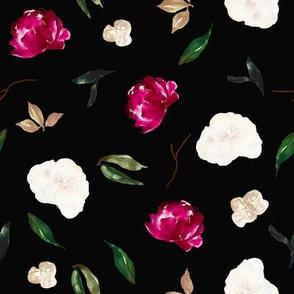 "8"" Crimson Magnolia Blooms // Cody Gray"