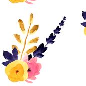 Floral Watercolor Spray