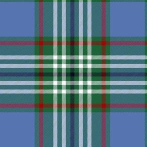 "Tweedside hunting tartan variant #4, 6"""