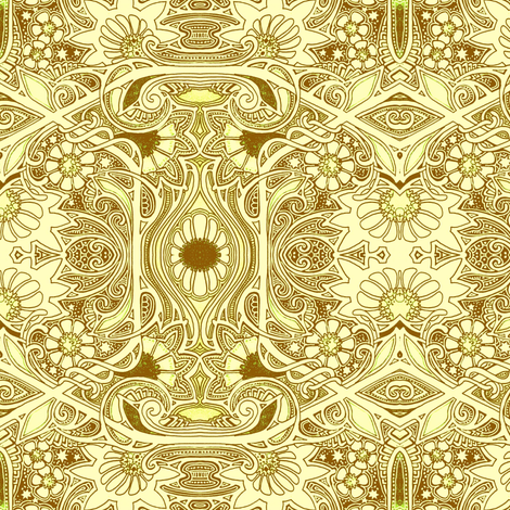 Some Sunshine Morning fabric by edsel2084 on Spoonflower - custom fabric