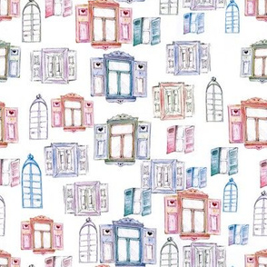 Tenement House Windows
