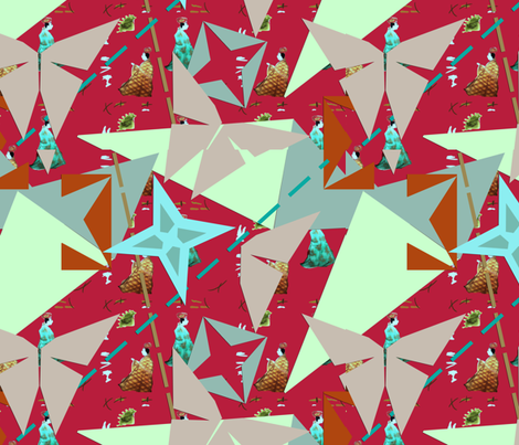 origami_edo fabric by isabella_asratyan on Spoonflower - custom fabric