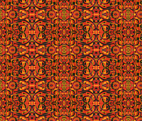 Kilim  fabric by missy626 on Spoonflower - custom fabric