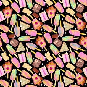 Aussie Treats | Small | Bubble O Bill | Iced Vovo | Rainbow Paddle Pop | Lamington | Fairy Bread