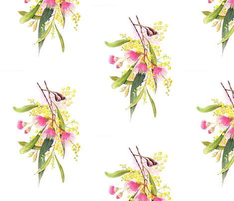 D30F6B26-3E60-4819-8EDD-A08F8DA36131 fabric by centralaustralian_wildflowerart on Spoonflower - custom fabric