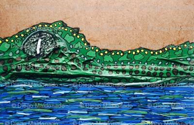 Never ending crocodile