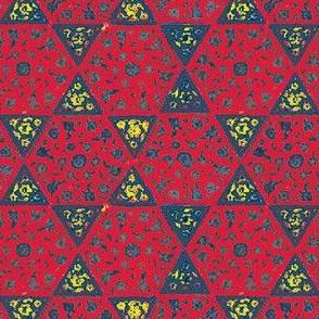 Star Tiles Red