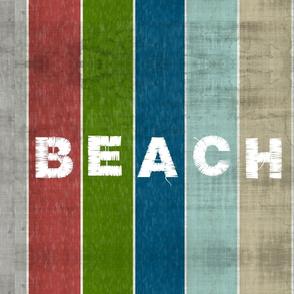 Beach stripes - Driftwood 1951 BEACH white  Lake