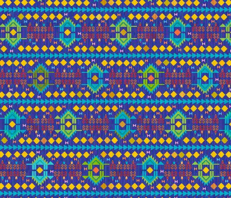 When Dinosaurs Roamed the Rug fabric by beckarahn on Spoonflower - custom fabric