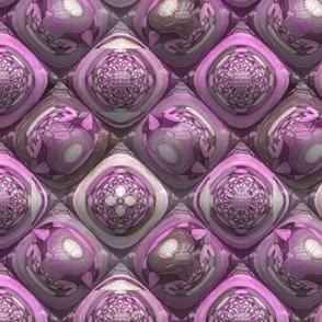 PINK AGATHE OPAL PYRAMIDS 2 GEMS STONES