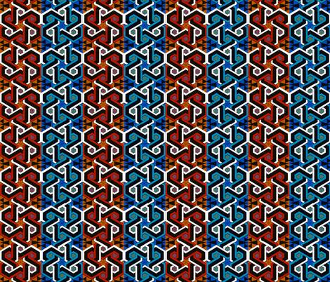 moyen age 391 fabric by hypersphere on Spoonflower - custom fabric