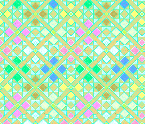 moyen age 396 fabric by hypersphere on Spoonflower - custom fabric