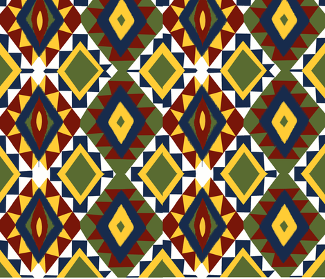 Kilm fabric by rakhee_gupta on Spoonflower - custom fabric