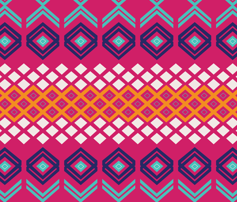 Kilim Pattern-01 fabric by wiebe_designing on Spoonflower - custom fabric