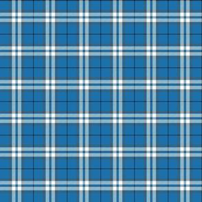 "MacLintock blue tartan, 3"""