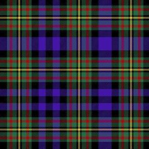 "MacLellan tartan, 6"" purple"