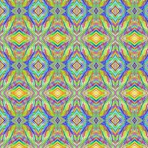 Rainbow Diamond Nets