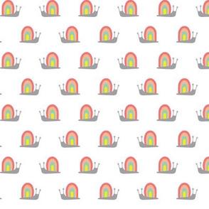 Rainbow Snails Pink