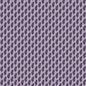 Lavender Sprig Light Lavender Background