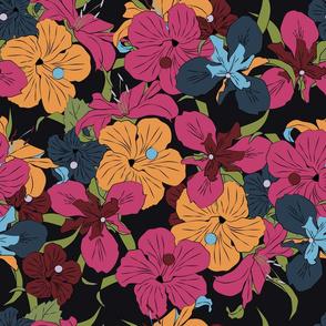 Dark Floral v2
