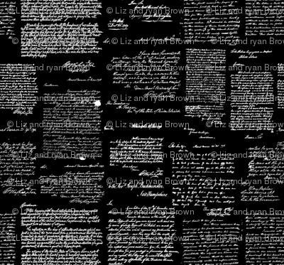 Letters of George Washington // Black