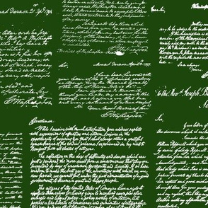 Letters of George Washington // Green