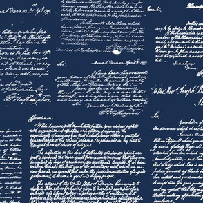 Letters of George Washington // Navy