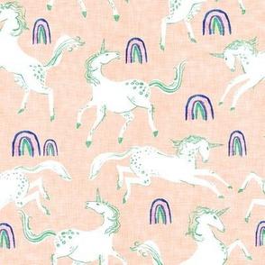Serendipity Unicorns (peachy)