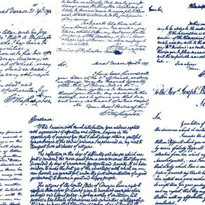 Letters of George Washington // Blue Ink