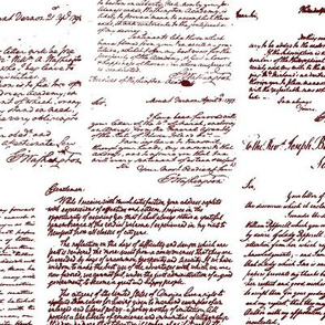 Letters of George Washington // Red Ink