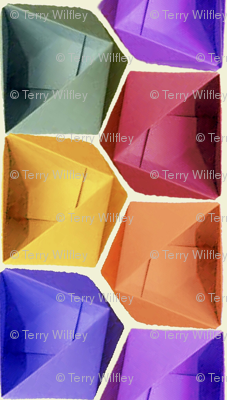 Jewel-tone Origami Boxes