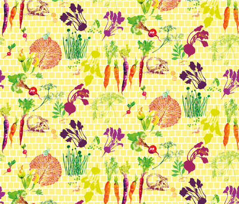 Rich Harvest fabric by freudenwerkstatt on Spoonflower - custom fabric