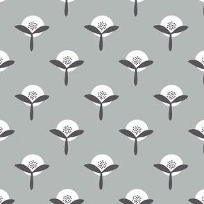 Retro Summer Garden grey